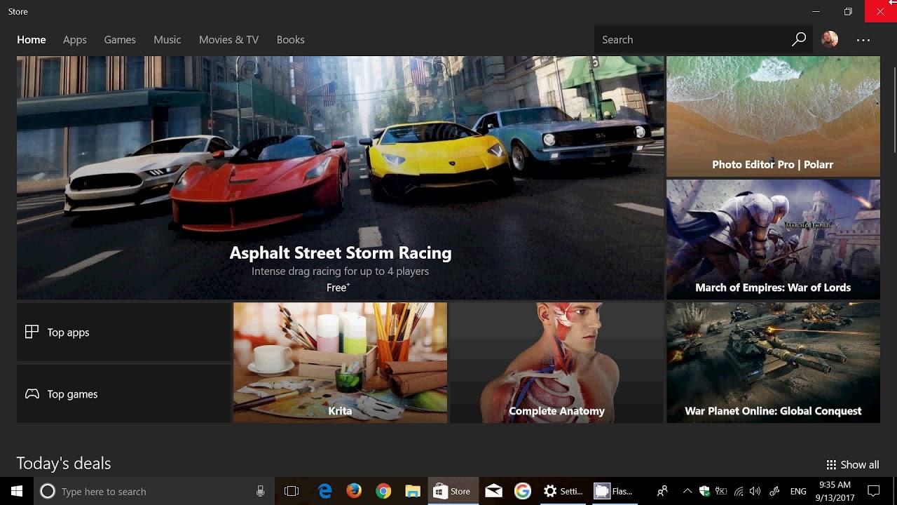 Windows 10 Fall creators update highlight Windows Store improvements ...