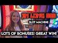 BONUS AFTER BONUS! Jin Long 888 Slot Machine! Fantastic Run!!