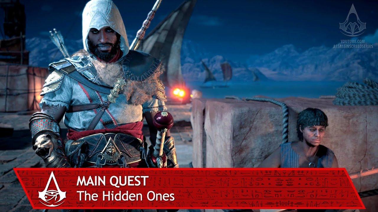 Assassin S Creed Origins The Hidden Ones Main Quest The Hidden Ones Youtube