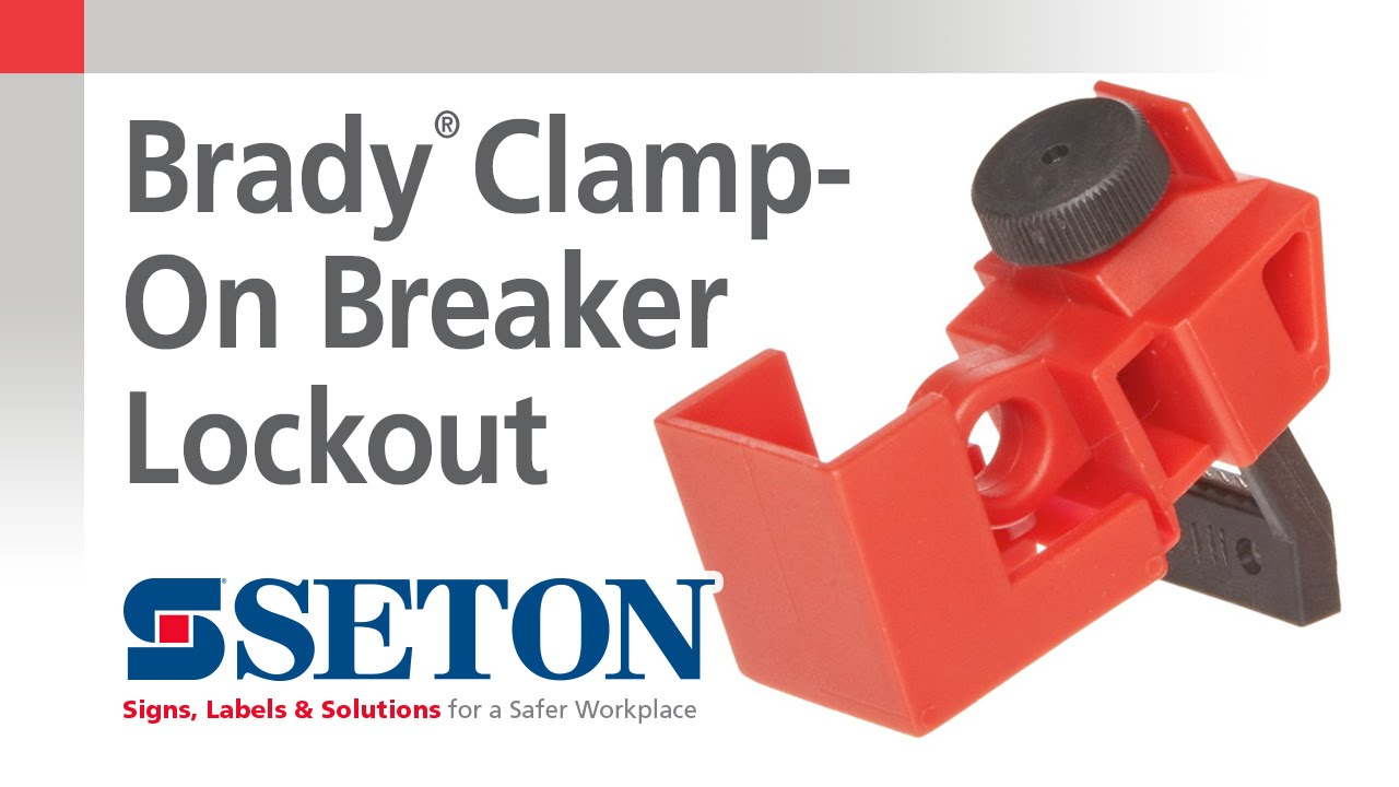How To Install A Brady Clamp On Breaker Lockout Device Seton Watch The New Video And Learn Easily Troubleshoot Any Afci Circuit