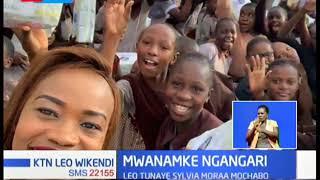 Sylvia Moraa Mochabo, mwanamke anayewajali waishio na ulemavu  MWANAMKE NGANGARI