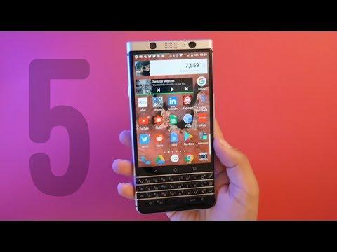 5 Reasons You NEED The BlackBerry KEYone!