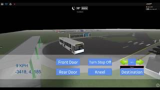 Roblox: Driving a 2010 Gillig BRT on the Freeway