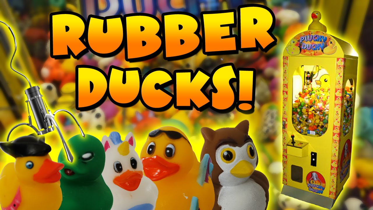 Rubber Duck Claw Machine Wins Claw Machine Adventures