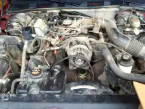 replacing  water pump   grand marquis youtube