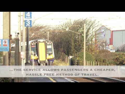 Glasgow Prestwick Airport Rail Connection Benefits