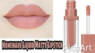 Homemade Matte Liquid Lipstick! Easy, Cheap, Long-lasting