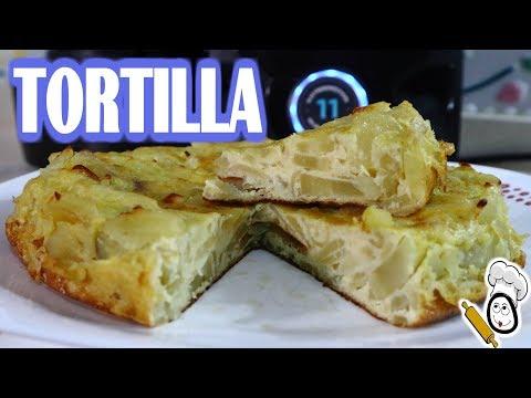 ▷ Tortilla de patatas con  Mambo  【 Cecotec】¡Que Rica 😋!