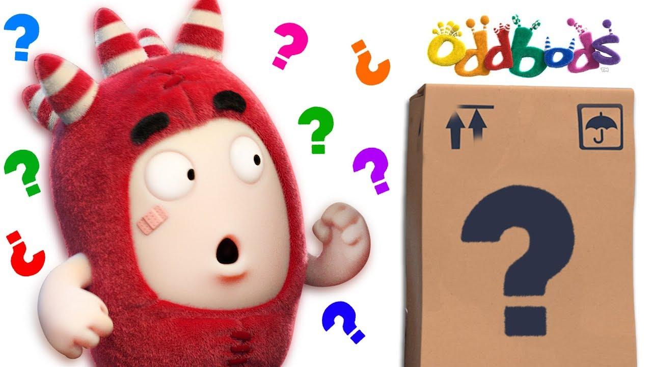 MYSTERY BOX | NEW Oddbods Episodes | Funny Cartoons
