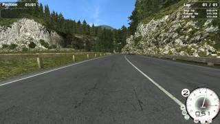 Escort V8 - Hillclimb (inebriated)