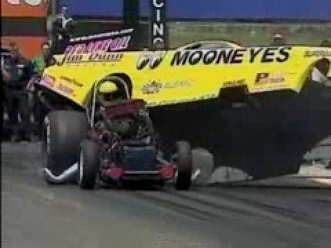 Al Hoffman Blows Up 2001 Topeka, KS NHRA