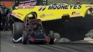 Al Hoffman Blows Up 2001 Topeka, KS NHRA