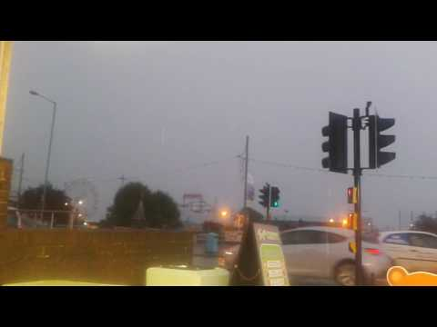 Skegness Sea Front In A Thunder Storm