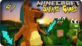 Pixelmon Safari Games! LET THE GAMES BEGIN! (75k SUB HOUR LONG SPECIAL!)