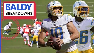 How the Chargers Took Down the Chiefs at Arrowhead | Baldy Breakdowns
