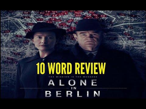 Alone in Berlin - Ten Word Movie Review