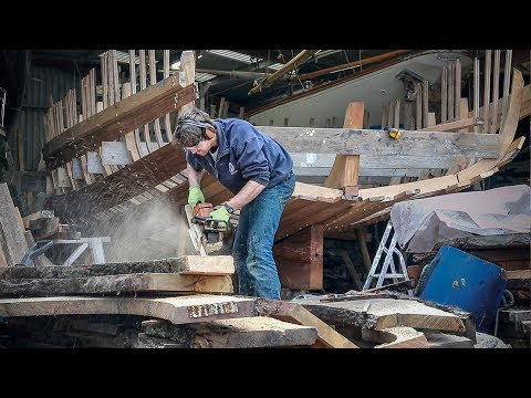 Building a New, Traditional Boat in Cornwall - Rebuilding Tally Ho EP 15