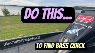 How To Find Bąss Quick On Unfamiliar Waters