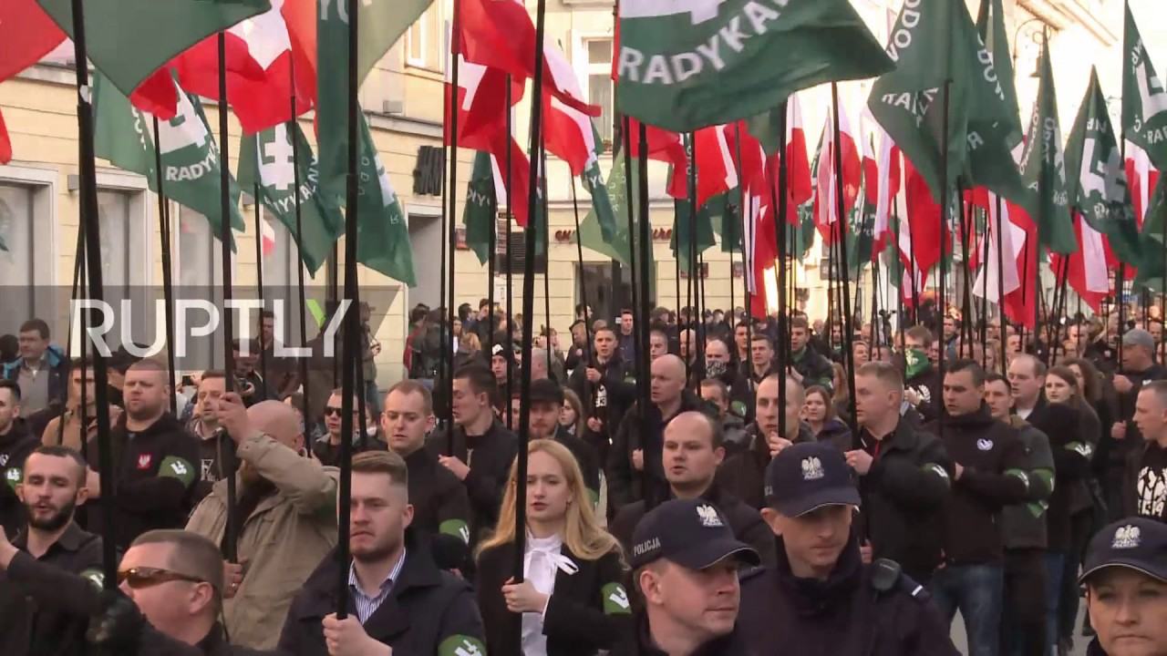 Image result for nationalist riots in poland