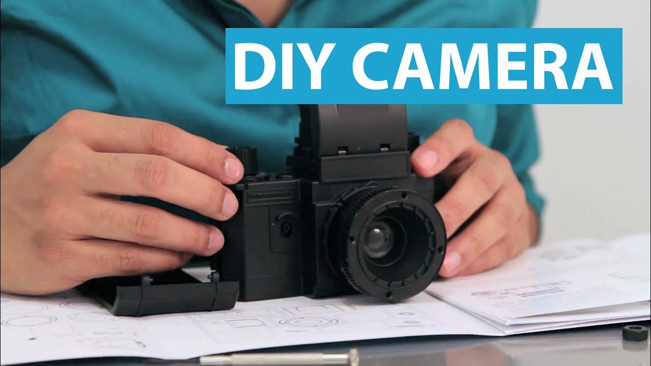Build Your Own SLR Camera With This DIY Kit - YouTube