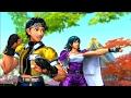 Street Fighter X Tekken Playthrough  - Sakura and Asuka (Team Japan)