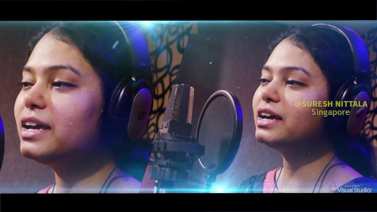 క్రిస్మస్ ఆనందం  # Telugu Latest Wonderful Christmas song 2018 - 19 # Suresh Nittala # KY Ratnam