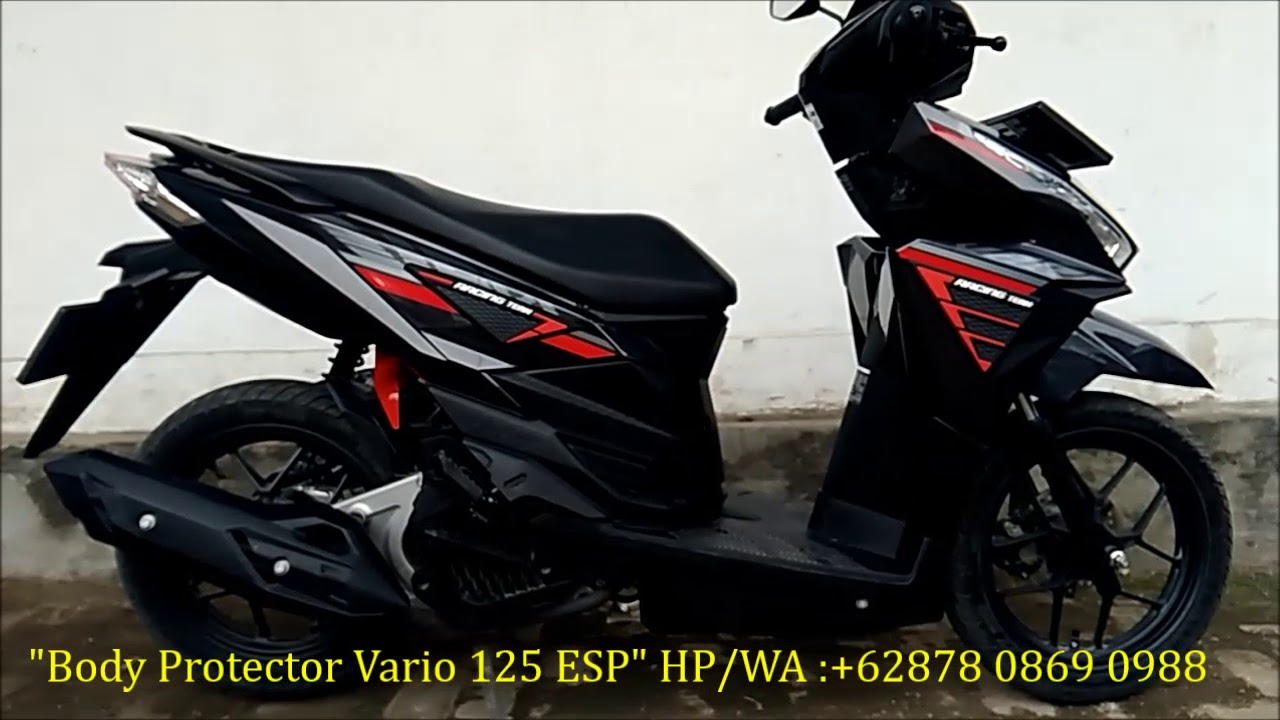 MODIFIKASI HONDA VARIO 125 ESP Design By IEJIMO Motor Black YouTube