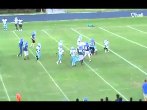 Justin Oliver Sophmore Football Highlights - Woodmont High School