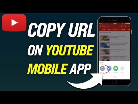 How To Copy URL On YouTube Mobile