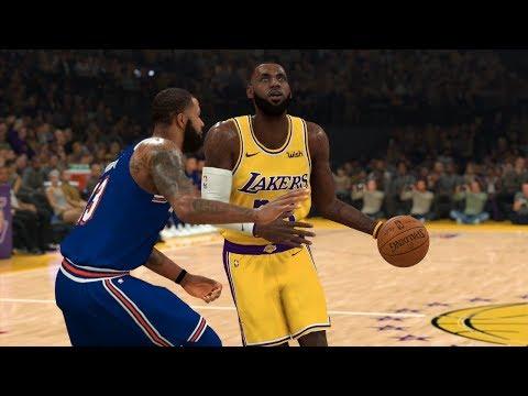 NBA Today 1/7 Los Angeles Lakers Vs New York Knicks Full Game Highlights | NBA 2K