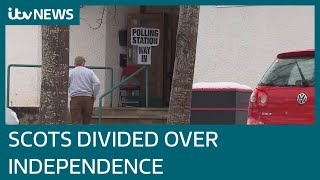 Scotland Election 2021: Scots divided over independence | ITV News