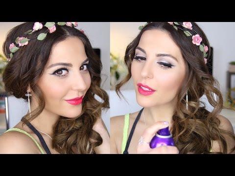 Drugstore Prom Makeup & Hair Tutorial |...