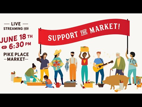 Support Pike Place Market!