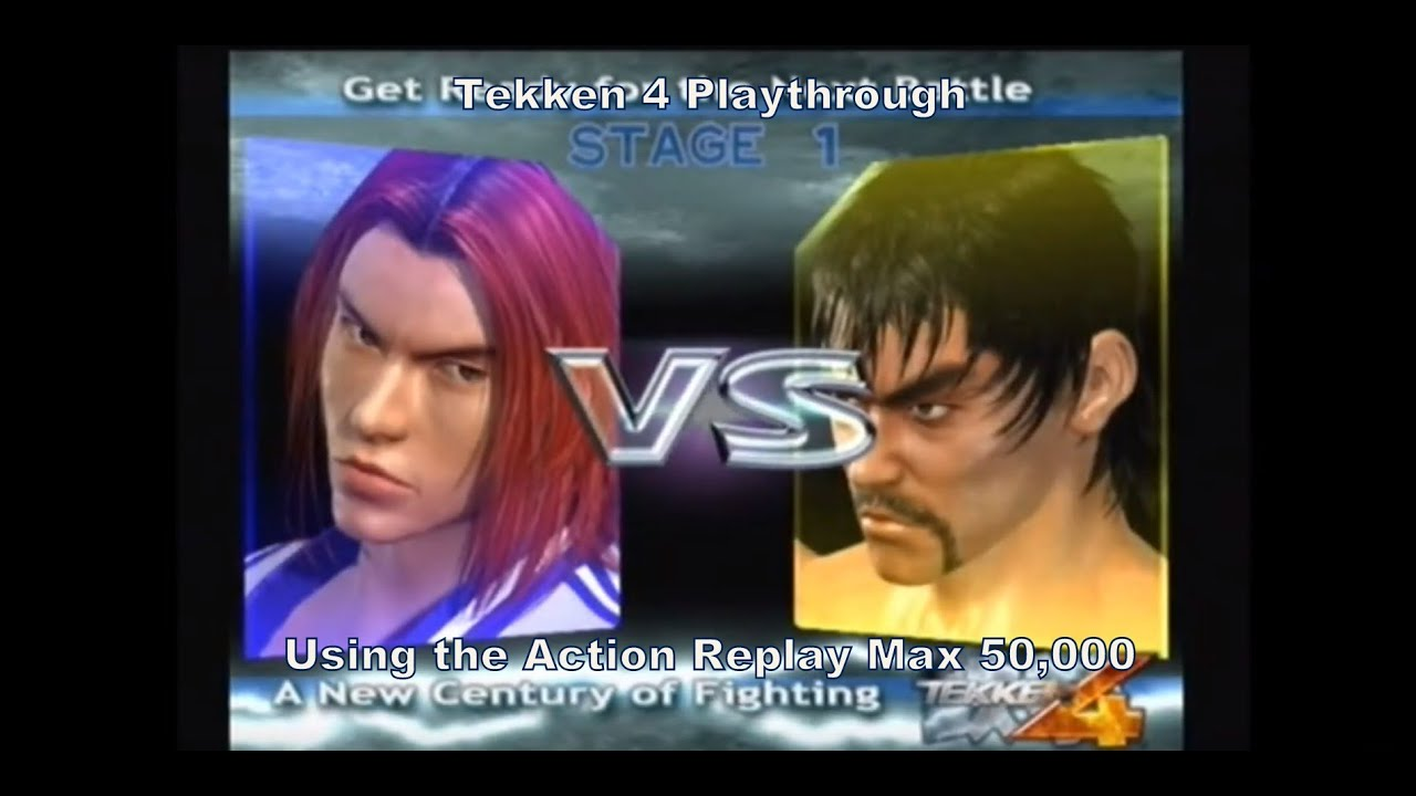 Tekken 4 Hwoarang Playthrough Using The Ps2 Action Replay Max 50 000 D Youtube
