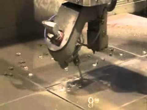 Jet Edge IDRO 5-Axis Water Jet Cutting System