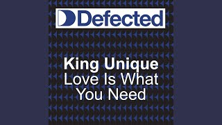 Love Is What You Need (Look Ahead) (Knee Deep Classic club mix)