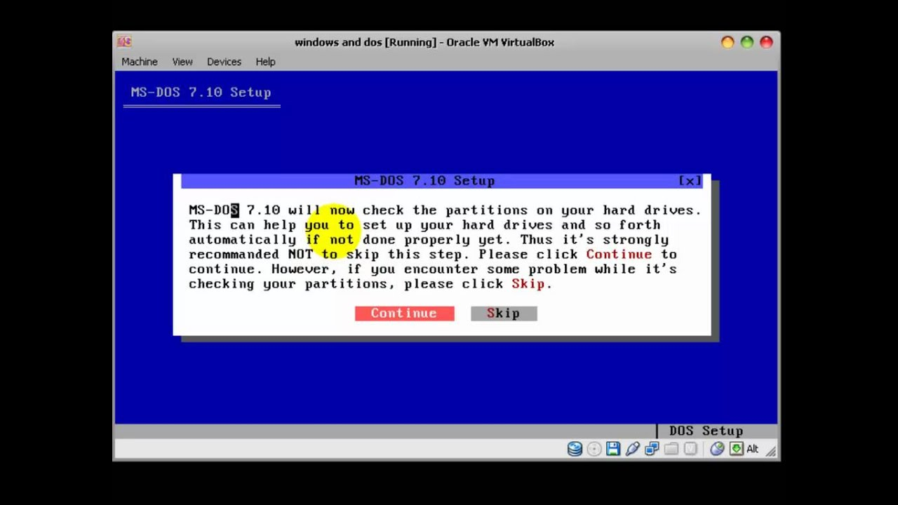 how to create a virtual machine on windows 3.1