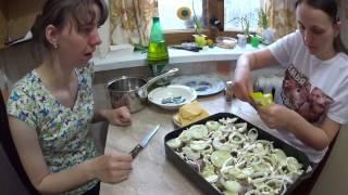 Запеченая рыба с картофелем под сырной корочкой // Жизнь в деревне