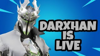 Fortnite India live DOING CUSTOMS !! Thx for 500 subs!! Use creator code Darxhan_YT