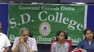 SD College society felicitations function