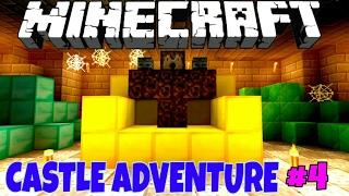 Castle Adventure! Приключения в Замке #4 [Прохождение Карты] - Minecraft PE Без Мата 🌡