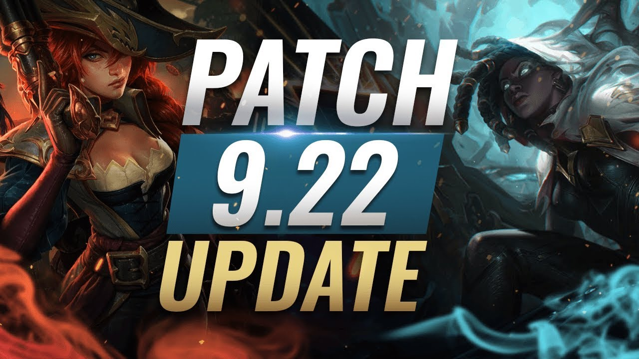 New Update Best Champions Tier List League Of Legends Patch 9 22 Youtube