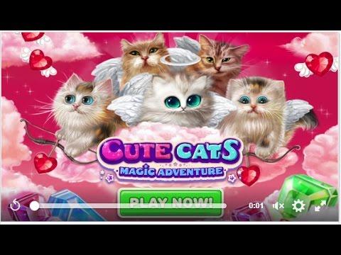 Три в ряд волшебные коты три в ряд играть