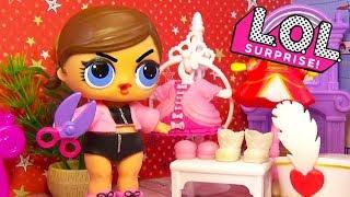 Мультик ЛОЛ LOL Surprise ЗАВИСТЬ Куклы ЛОЛ Видео для детей Мастерская Барби