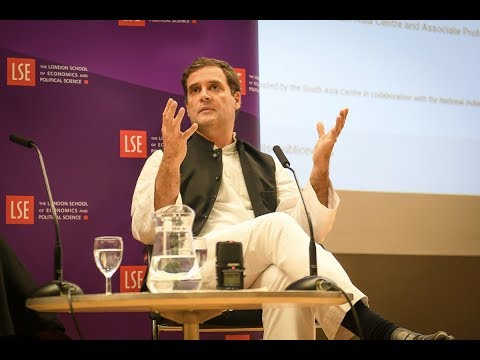 Congress President Rahul Gandhi's Interaction at London School of Economics