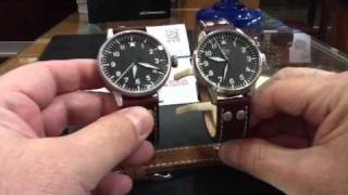 Laco Watch Review from Valencia Time Center Laco Flieger A Dial