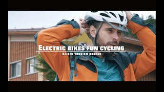 Electric bikes fun cycling 電動アシスト自転車で楽ちんサイクリング