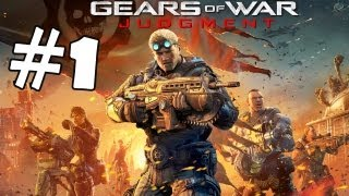 Gears of War Judgement Walkthrough Part 1 Campaign Gameplay Review Lets Play HD XBOX 360