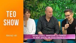 Teo Show (25.03.2019) - Andrei Leonte, cadou inedit de la iubita lui! A adoptat un URS pen ...
