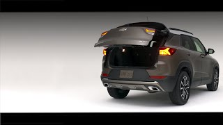 homepage tile video photo for All-New 2021 Chevy Trailblazer - Hands-Free Liftgate | Chevrolet